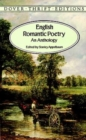 Image for English Romantic Poetry : An Anthology