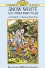 Image for Snow White and other fairy tales