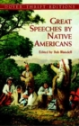 Image for Great Speeches by Native Americans