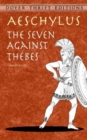 Image for The seven against Thebes