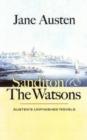 Image for Sanditon  : Austen's unfinished novels