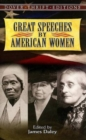 Image for Great Speeches by American Women