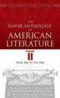 Image for The Dover anthology of American literatureVolume II,: From 1865 to the 1920s