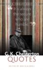 Image for G.K. Chesterton quotes