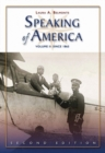 Image for Speaking of America : Readings in U.S. History, Vol. II: Since 1865
