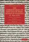Image for The commentaries of Isho'dad of Merv, Bishop of Hadatha (c. 850 A.D.): in Syriac and English. (Luke and John in Syriac) : Volume 3,
