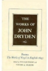 Image for The Works of John Dryden, Volume VI : Poems, The Works of Virgil in English 1697