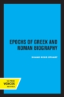Image for Epochs of Greek and Roman biography