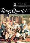 Image for The Cambridge companion to the string quartet