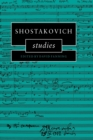 Image for Shostakovich studies
