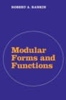 Image for Modular forms and functions