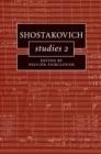 Image for Shostakovich studies 2