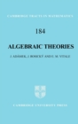 Image for Algebraic theories  : a categorical introduction to general algebra