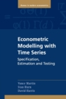 Image for Econometric modelling with time series  : specification, estimation and testing