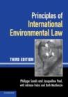 Image for Principles of international environmental law