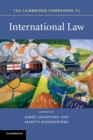 Image for The Cambridge companion to international law
