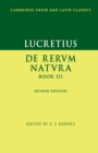 Image for De rerum natura, III