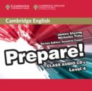 Image for Cambridge English prepare!Level 4,: Class audio CDs