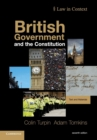 Image for British government and the constitution  : text and materials