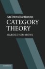 Image for An introduction to category theory