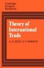 Image for Theory of International Trade : A Dual, General Equilibrium Approach
