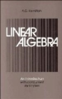 Image for Linear Algebra: Volume 2 : An Introduction with Concurrent Examples