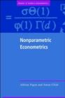 Image for Nonparametric econometrics