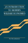 Image for An Introduction to Modern Welfare Economics