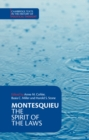 Image for Montesquieu: The Spirit of the Laws