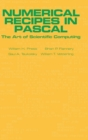 Image for Numerical Recipes in Pascal (First Edition) : The Art of Scientific Computing