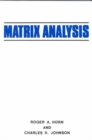 Image for Matrix analysis