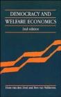 Image for Democracy and Welfare Economics