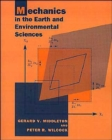 Image for Mechanics in the Earth and Environmental Sciences
