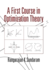 Image for A first course in optimization theory