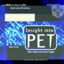 Image for Insight into PET Audio CDs (2)