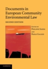 Image for Documents in European Community environmental law