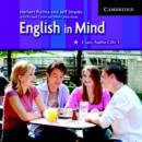Image for English in Mind 3 Class Audio CDs