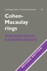 Image for Cohen-Macaulay rings