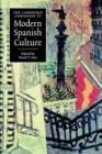 Image for The Cambridge companion to modern Spanish culture
