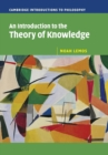 Image for An introduction to the theory of knowledge