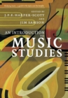 Image for An introduction to music studies