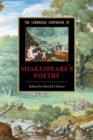 Image for The Cambridge companion to Shakespeare's poetry