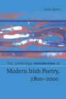 Image for The Cambridge introduction to modern Irish poetry, 1800-2000