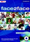 Image for face2face Pre-intermediate Network CD-ROM