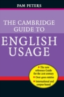 Image for The Cambridge guide to English usage