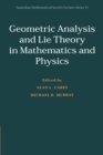 Image for Geometric analysis and lie theory in mathematics and physics