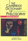 Image for The Cambridge dictionary of philosophy
