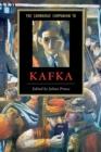 Image for The Cambridge companion to Kafka