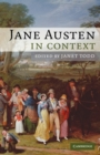 Image for Jane Austen in context