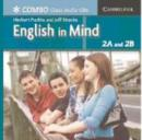 Image for English in Mind Combos 2A and 2B Class Audio CDs